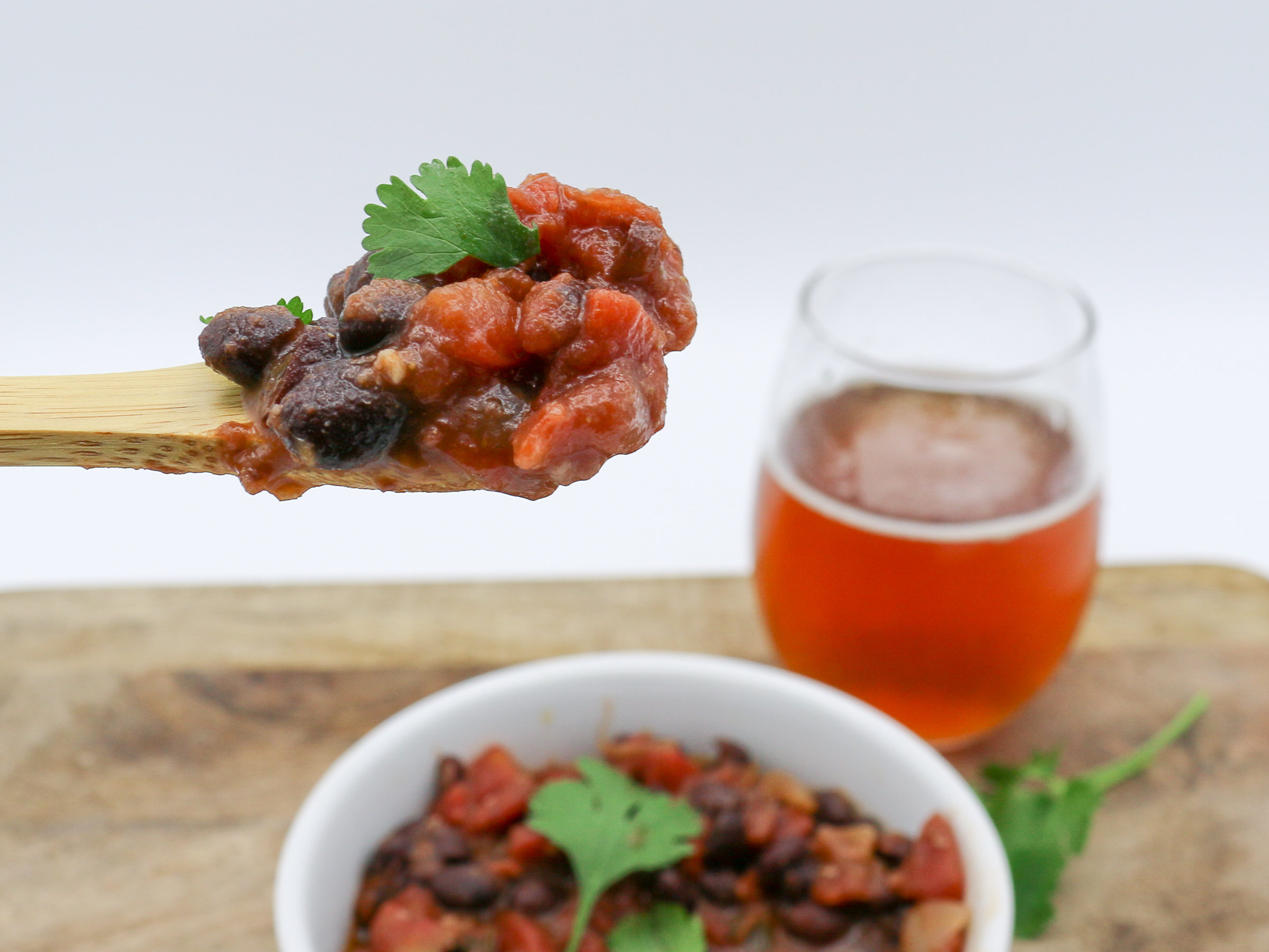 Vegan Black Bean Chili