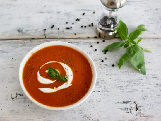 Tomato Soup in a bowl